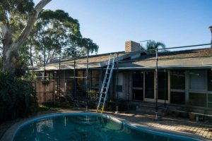 Changing Concrete Roof Tiles to Corrugated Metal Roofing 6