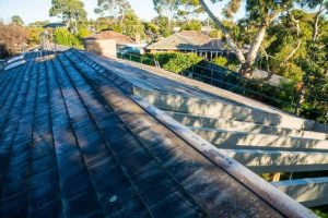 Changing Concrete Roof Tiles to Corrugated Metal Roofing 5