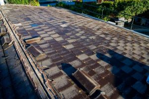 Changing Concrete Roof Tiles to Corrugated Metal Roofing 4