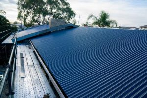 Changing Concrete Roof Tiles to Corrugated Metal Roofing 2