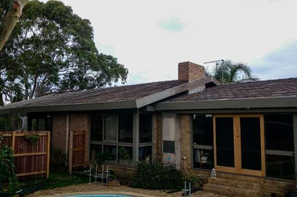 Changing Concrete Roof Tiles to Corrugated Metal Roofing 3