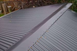 Changing Concrete Roof Tiles to Corrugated Metal Roofing 8