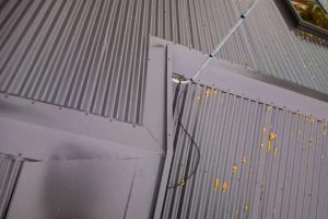 Changing Concrete Roof Tiles to Corrugated Metal Roofing 7