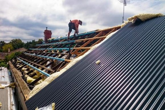 Re-Roofing Metal